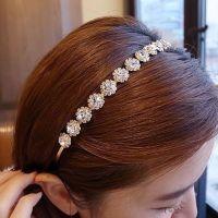 韩国进口发饰品 闪亮OL气质头饰头箍镶钻细版发箍新款发卡