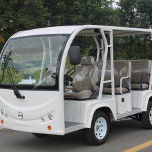 四轮电动观光车 十一座敞开式游览观光电动车 江苏电动车厂家