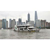 江龙生产上海300客位钢玻旅游船40米钢玻旅游观光船 JL40-GF-01观光船