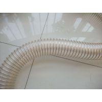 百盛厂家供应PU通风管PU吸尘钢丝伸缩软管