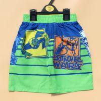 外贸原单批发 儿童星球大战夏天短裤 夏季男童沙滩裤童装运动裤