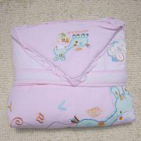 新生儿纯棉抱被 婴儿纯棉包被 宝宝秋冬款纯棉秋冬款加厚抱毯