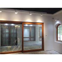 重庆铝包木门窗,重庆高档铝木门窗,成都铝木门窗,成都铝包木金刚网一体窗