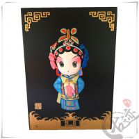 【古迹印象】风雅堂京剧脸谱泥塑挂摆件中国风特色 民间工艺品