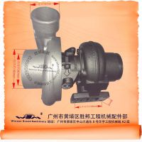 KOMATSU/小松PC220-6挖掘机S6D102发动机配件6735-81-8031增压器
