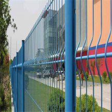 自贸区护栏网 护栏生产厂家 防护栏围墙
