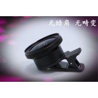 益安光学手机镜头超广角微距鱼眼三合一套装通用单反自拍外置摄像头iPhone