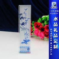 三人行学校庆礼品 旅游纪念品 水晶镇纸厂家直销定做内容