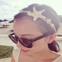 T054 2014新款海星发箍 海边渡假压发时尚发带 装饰饰品头饰发饰