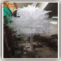仿真白银杏树 假银杏树仿真许愿树 婚庆道具树假树厂家定做树