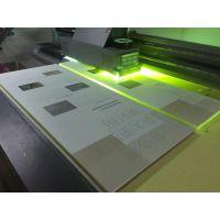 深圳沙井玻璃印花加工 瓷砖背景墙彩绘加工 UV数码印刷来料彩印
