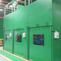 生产线噪声治理 为广州约克生产线大型设备提降噪工程 噪音处理 隔声 吸声 隔音 振动控制