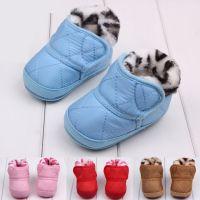 厂家直销冬款加厚宝宝学步棉鞋 儿童棉鞋 婴儿软底步前鞋 外贸