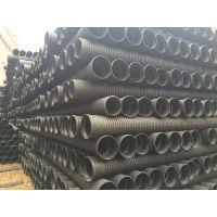 东安HDPE双壁波纹管公司价格/HDPE排污管道