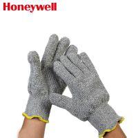 霍尼韦尔2032625CN耐高温手套 毛圈棉隔热防割手套 机械维修手套