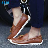 AOJO品牌加盟豆豆鞋新款休闲鞋批发代理一脚蹬批发休闲鞋加盟