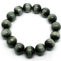 巴西绿发晶手链 天然绿发晶手链精品 旺事业财运搭配石榴石