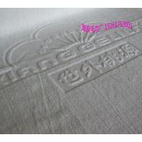 淮安毛巾厂加工纯棉酒店32线双股纱染色吸水浴巾70*140cm,500g