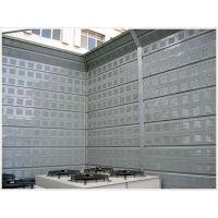 西安玻璃棉填充声屏障厂家*西安铝合金板声屏障价格*顶部弧形耐用隔音声屏障