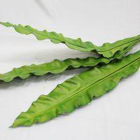 高仿真花鸟巢蕨4 富贵叶 山苏叶人造叶仿真花批发 绢花A0085-04