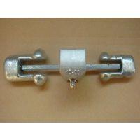 万源GXJ-11节能型防振锤铝异并沟线夹(铁路专用),铁路用并沟线夹