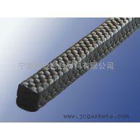 四氟割裂丝盘根|骏驰出品黑四氟割裂丝硅胶芯盘根FASTRACK-4106