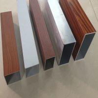 厂家供应外墙铝方管 门头氟碳烤漆铝方通