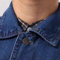 海源 铜扣水洗牛仔系列工作服 男女款工作装劳保服全年可穿NZ011