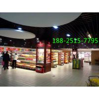 商场网格铝天花-购物广场天花吊顶-天花材料供应商