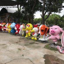 树脂雕塑工艺品圣诞节庆典白雪公主和七个小矮人 园林乐园摆件