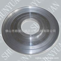 铝托盘;玻璃磨轮拖盘;玻璃磨边机磨轮铝托盖;带孔铝盘