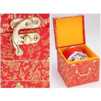 景德镇寿碗锦盒 寿碗配件 寿盒寿碗答谢礼盒 提袋寿勺专业定做