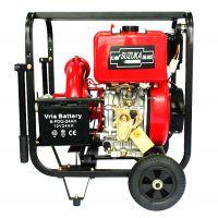 手推式4寸柴油机抽水泵