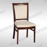 简约木椅子 软包椅子 高背休闲餐椅 中式火锅店椅子厂价直销