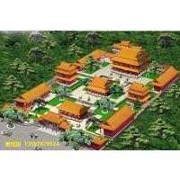 扬州古建寺庙设计设计效果图,泰州寺庙古建彩绘工程承包