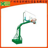 【厂家直销】广州奇欣埋方管篮球架B型 户外休闲篮球架 体育器材(QX-141F)