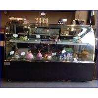 水果蛋糕生日蛋糕展示冰柜 连云港定做蛋糕柜价格 单弧形后开门西点蛋糕柜