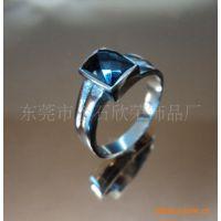 供应情侣不锈钢戒指,镶钻戒指,高档不锈钢戒指,戒指