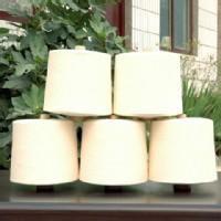 人棉黏胶合股纱30/2针织毛衫用漂白染色纱 15捻/英寸高档优质纱线