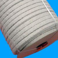 陶瓷纤维盘根|骏驰出品耐高温1260度钢丝增强陶瓷纤维方绳