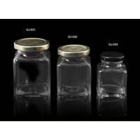 100克200克280克380克四方形玻璃瓶辣酱瓶