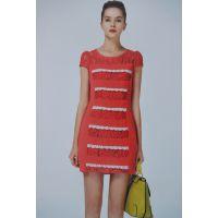 14年杭州知名品牌《施蔓》夏装 连衣裙 品牌折扣女装低价走份