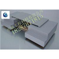 供应云南不锈钢金属盖板型屋面变形缝厂家直接供货提供安装