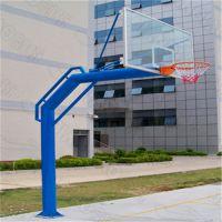 开平高级篮球架生产厂家 篮球架可移动 固定式单臂篮球架