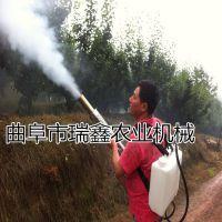 蔬菜大棚农用烟雾机 高射程2元4包微信红包群弥雾机 瑞鑫牌农用烟雾打药机