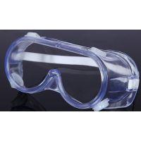 供应防风镜CE 护目镜防护镜安全防尘防喷溅塑料眼罩防护眼罩批发