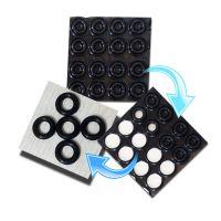 YF耐磨损橡胶O型圈内径2*1mm黑色橡胶O令外径4*1mm