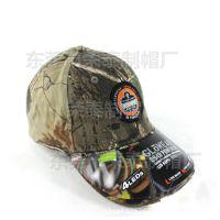 户外夏季防晒遮阳迷彩帽鸭舌帽 定制仿生迷彩棒球帽 外贸出口品质