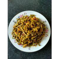 红油豆角/下饭菜 腌制豆角/散装酱菜箱装 15斤/箱