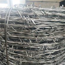 优盾现货西鲁式圈地带刺防盗铁丝网镀锌刺线 刺鬼一米价格防腐能力,使其寿命更长久